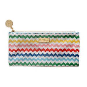 PRE-ORDER Wavy Fun Brush Pouch or School Item Organizer!