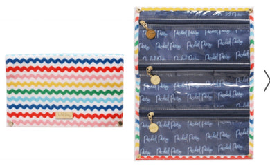 PRE-ORDER Wavy Fun Jewelry Roll or School Organizer!