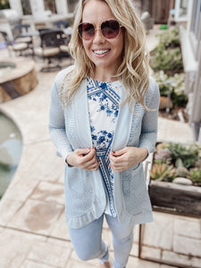 Bloom Cardigan - Cactus Lounge Boutique
