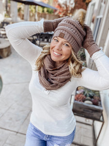 Baby It's Cold Outside Collection: Scarf, Gloves and/Or Beanie (sold separately) - Cactus Lounge Boutique