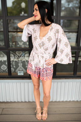 Sanibel Blush Romper