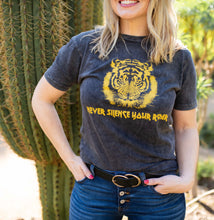 Never Silence Your Roar Vintage Wash Tee