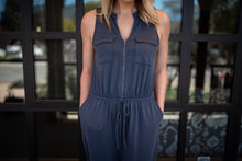 Denim Blue Jumpsuit