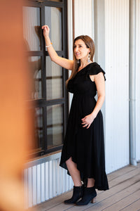 Monica Black Dress
