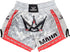 Maha Sak Yant Muay Thai Shorts - White/Red