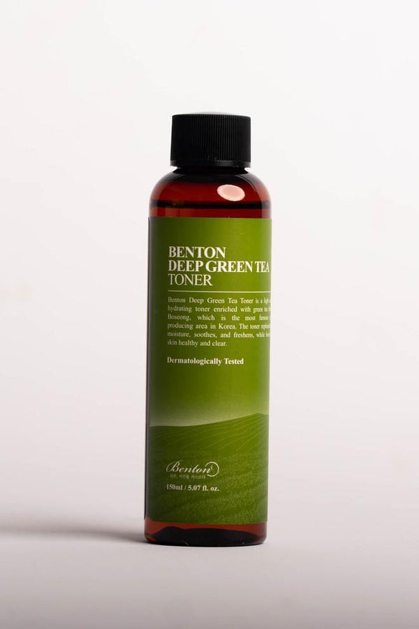Deep Green Tea Toner 150ml - Chok Chok Beauty