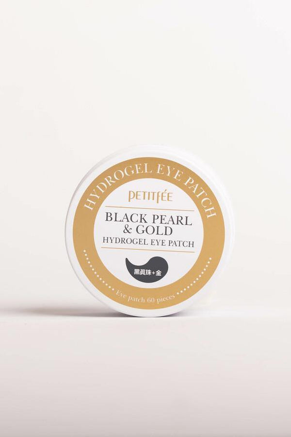 Black Pearl And Gold Hydrogel Eye Patch - Chok Chok Beauty