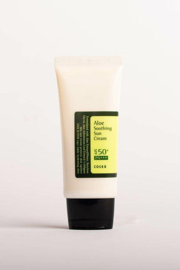 Aloe soothing sun cream cosrx Chok chok beauty