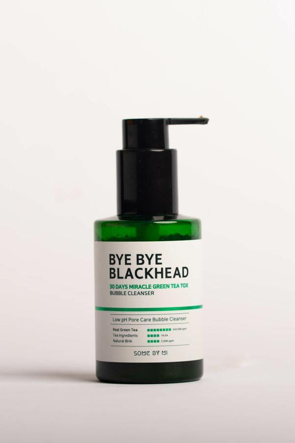 Bye Bye Blackhead 30 Days Miracle Green Tea Tox Bubble Cleanser 120g - Chok Chok Beauty
