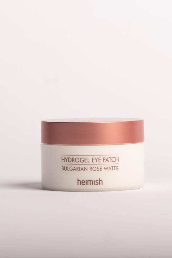 Bulgarian Rose Water Hydrogel eyepatch