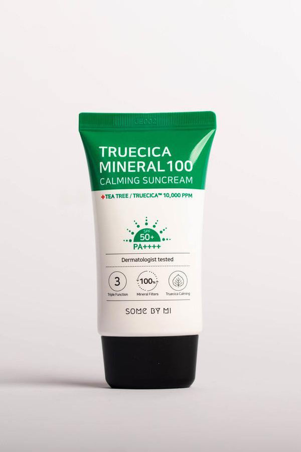 Truecica Minera 100 Calming Suncream 50PA++++ 50ml