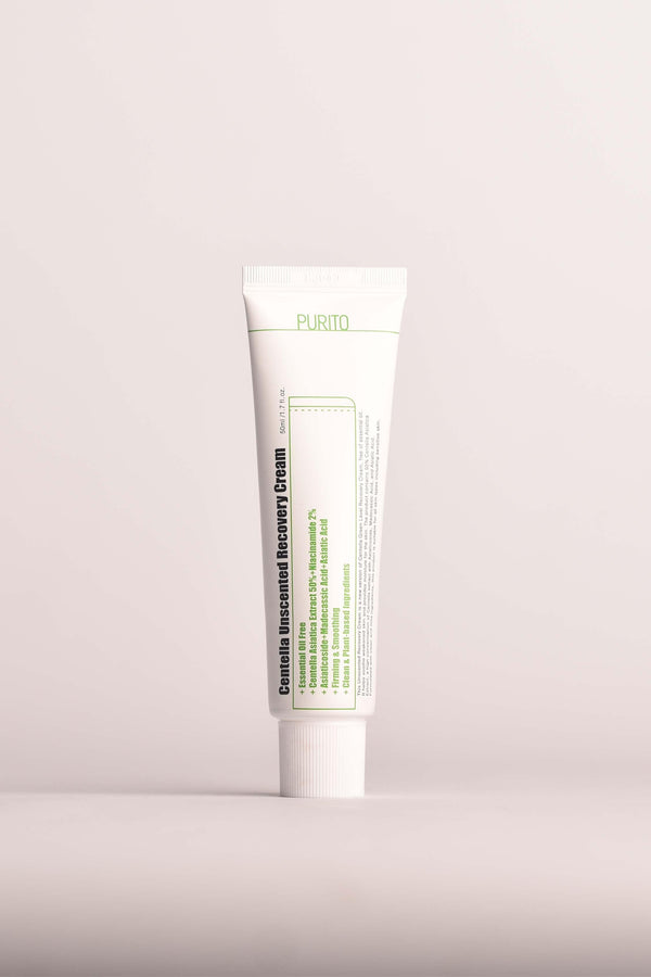 Centella Unscented Recovery Cream 50ml - Chok Chok Beauty