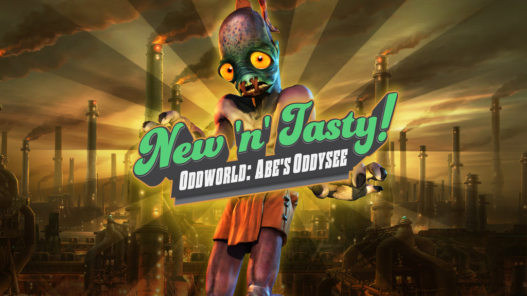 Mark your calendar - Oddworld New 'n' Tasty comes to Nintendo Switch on October 27!
