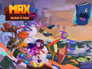 Max and the book of chaos - Releases this week!