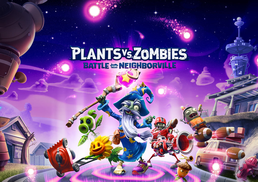 NEW ARRIVAL PLANTS VS. ZOMBIES A BATTLE FOR NEIGHBORVILLE