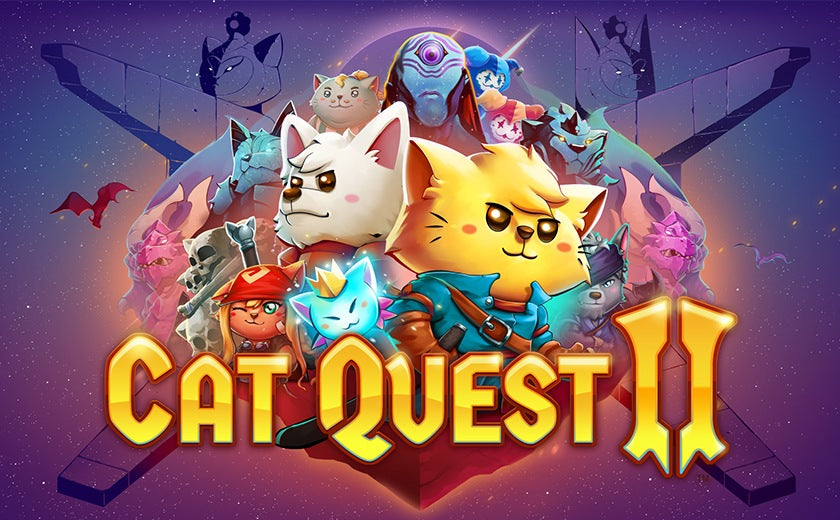The Cat Quest 'Pawsome Pack' (featuring Cat Quest and Cat Quest II) is out now!