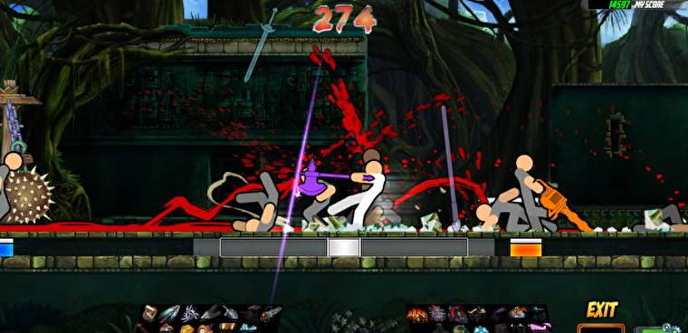 Test Your Might! One Finger Death Punch 2 Demo Now Available