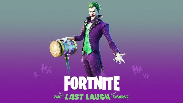 Warner Bros. Games Epic Games and DC Launch Fortnite The Last Laugh Bundle