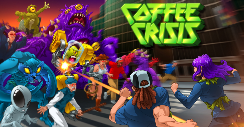 Caffeinated Couch Co-op Coffee Crisis Coming to Switch November 30th