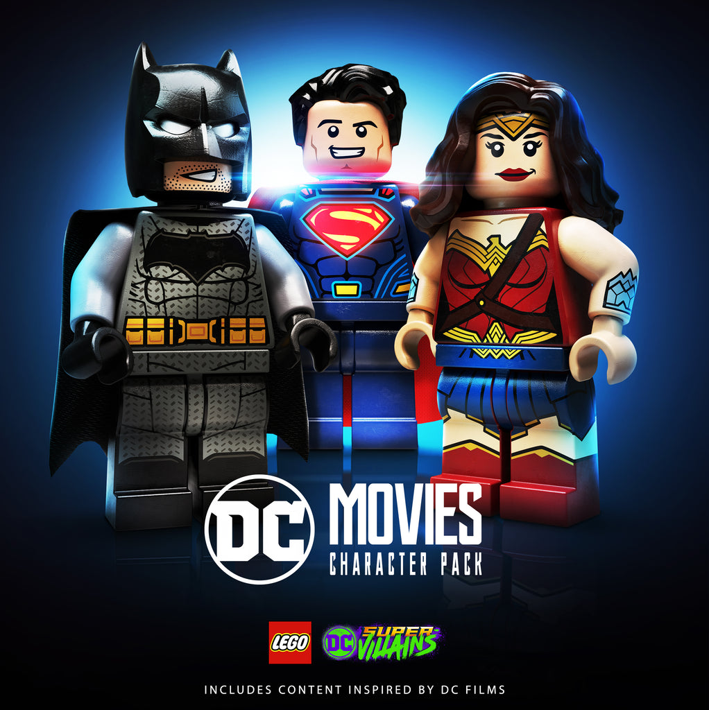 LEGO® DC Super-Villains Adds DC Movie Character Pack