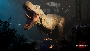 Deathground a Dinosaur Survival Horror Game Launches on Kickstarter