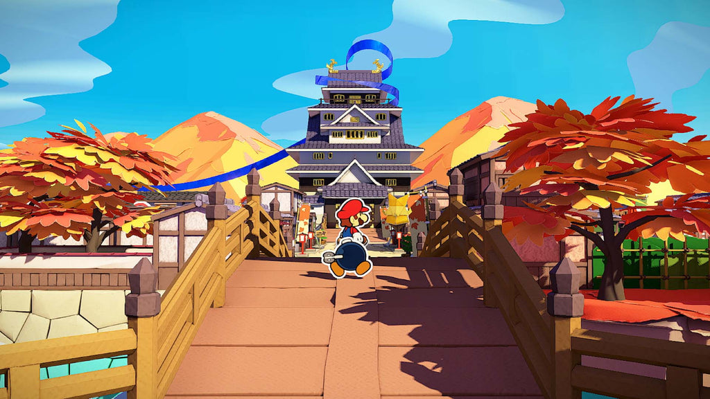 Paper Mario The Origami King on Nintendo Switch Gets a New Trailer