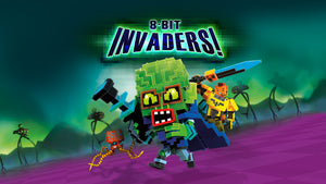 8-Bit Invaders! (PS4 XO) Gameplay Trailer
