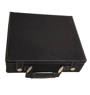 Leatherette 100 Chip Poker Set