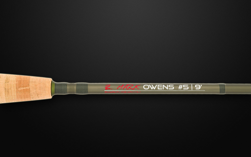 Handle of Owens Fly Rod by Z.Mark Fly Gear