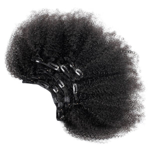 SPA HAIR Afro Curly Clip In Extensions 7 Pieces/Set