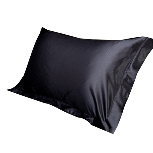 2PCS/SET Soft Satin Pillowcase