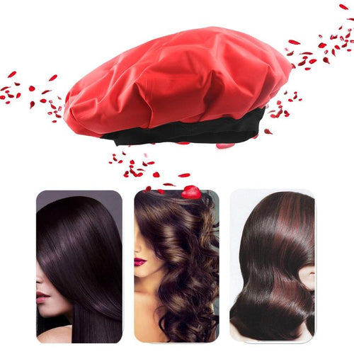 Spa Hair Cold/Heating Hair Cap Cordless Baked Oil DIY Treatment Steamer Cordless Hair Care