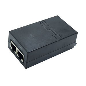 JideTech Injector -2Port Ethernet POE Switch With Metal