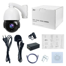 Load image into Gallery viewer, PTZ POE IP 2MP Dome Camera with 20X Optical Zoom