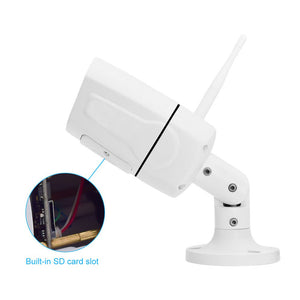 JideTech 1080P WiFi Camera Outdoor with SD Card Slot