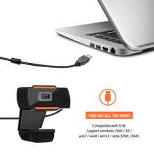 Load image into Gallery viewer, USB HD Webcam Web Camera PC Camera Video Record with Microphone 720P