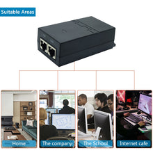 Load image into Gallery viewer, JideTech Injector -2Port Ethernet POE Switch With Metal