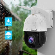 Load image into Gallery viewer, JideTech 2MP PTZ WiFI Camera with 20X Zoom