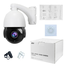 Load image into Gallery viewer, 5MP PTZ POE IP Security Dome Camera with 20X Optical Zoom