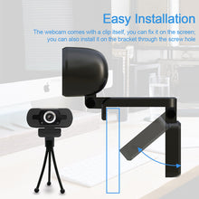 Load image into Gallery viewer, 50PCS/CTN-SOLD IN BULK!1080P HD DRIVELESS USB PC WEBCAM WITH MICROPHONE(A890)