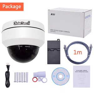 JideTech 360 Degree 1080P POE Dome PTZ Security Camera