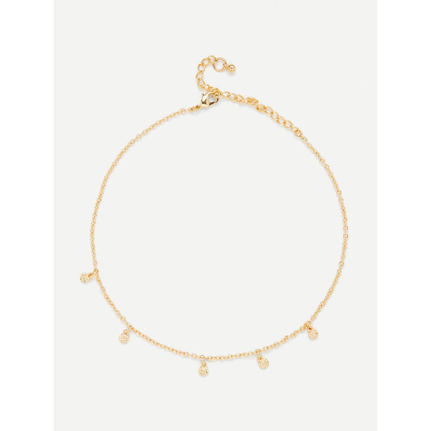 Charm Detail Choker Necklace