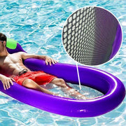 Inflatable Mat Giant Eggplant Lounge Float Bed