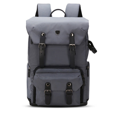 BAGSMART Canvas & Leather Retro Camera Bag