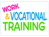 work and vocational training for students with special needs