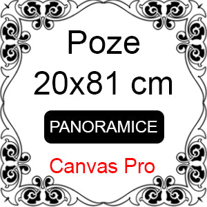 Developare poze panoramice - 20x81 cm - Canvas Pro