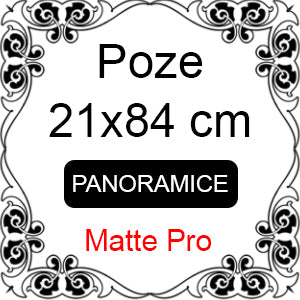 Developare poze panoramice - 21x84 cm