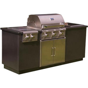 Saber Stainless Silver Vein Outdoor Kitchen I50LK2215 Grill NEW LOW PRICE!!