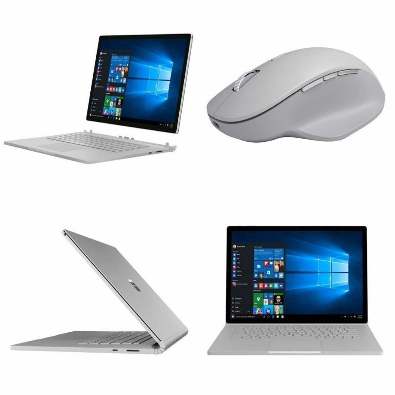 Surface Book 2 Intel Core i7 Touchscreen Windows 10 Pro 8GB RAM 256GB SSD Laptop