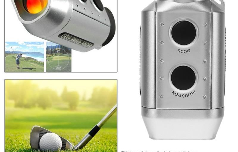 Digital Laser Rangefinder Telescope Pocket Golf Range Finder for Hunting Golf Scope Yards Distance Measurement Tool